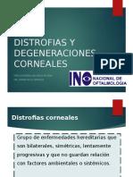 Distrofias y Degeneraciones Corneales 2018(1)