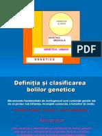 1. GENETICA CLINICA - Intr