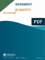 Risk Assessment Seafood Safety Scheme