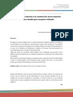 Mónica Zapateria - Ensayo del poder de las minorías a la construcción de las mayorías