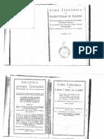 Aquino - Suma Teológica - Tratado de La Ley (Selección)