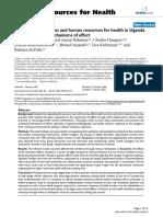 Human resource for health