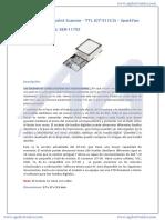 SEN11792 -  lector de huellas dactilares
