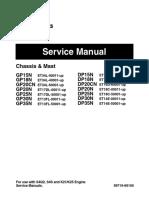 Caterpillar SM DP,GP15N-35N MCFE