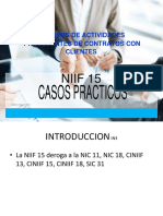 NIIF 15 Casos Prácticos