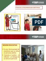 Seciones Educativas en La Psicoprofilaxis Obstetrica