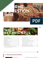 Informe de Gestion Procafecol 2018