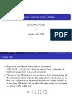 RDD - Regresión discontinua