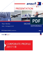 Corporate Presentation - July 2016