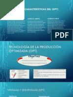 Tecnología de La Producción Optimizada (OPT)