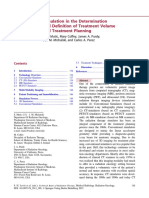 Chapter 5 Simulation in the Determination and Definition of Treatment Volume and Treatment Planning