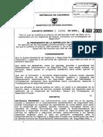 Decreto 2885 de 2009.pdf