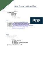 Asterisk Sobre Debian en Virtual Box