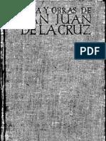 San Juan de La Cruz - Vida Y Obras Completas