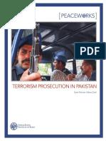 USIP Terrorism Prosecution in Pakistan