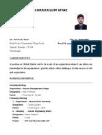 Rounak Basu CV