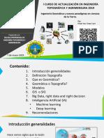 02. Ingeniería Geomatica y Nuevos Paradigmas en Ciencias de La Tierra Curso de Actualizacion Epita