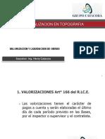 03.02 Valorización de Obra Curso de Actualizacion Epita