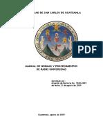 Manual Normas y Procedimientos Radio