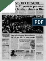 Jornal Do Brasil_massacre de Vigário Geral