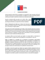 Comunicado Sename Aysén 28.08.2019