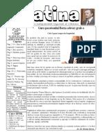 Datina - 29.08.2019 - prima pagină