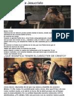 EL Carácter de Jesucristo