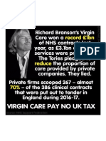 Virgin Pay No UK Tax