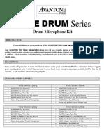 Tone Drum Kit Manual