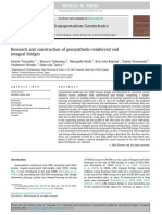 2. Research and Construction of Geosynthetic-reinforced Soil