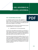 Del Adverbio Al Sintagma Adverbial