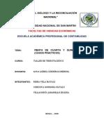 Informe de 4 y 5 Categoria