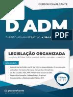 Direito Administrativo - 29 Legislacões - Legislação Organizada - VERSÃO DEMONSTRATIVA - 2019