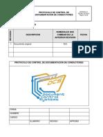 Protocolo de Control de Documentacion de Conductores