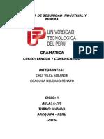 Monografia de Gramatica UTP