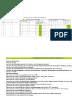 Matriz Aspectos Impactos Ambientales - EJEMPLO