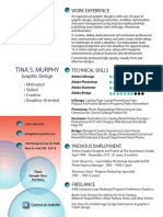 tinas creative resume - links