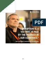 Corruption is a Tax