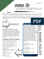 portfolio syllabus