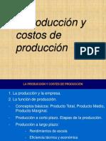 Produccion y Costos de Producción