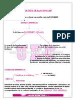 Clasificacion de Las Ciencias - Resumen Tomo 3
