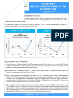 Quarterly GDP Publication - Q1 2019