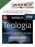Materia 05 - Teontologia Bacharel- Aula 2