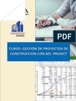 Curso de Gestion de Proyectos
