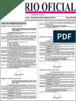 Diario Oficial 28-08-2019