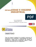 1. Introduccion Seguridad e Higiene Industrial