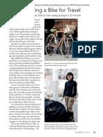 Rinko Packing a Bike for Travel