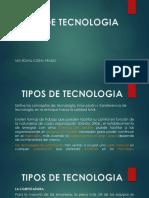 2 Tipos de Tecnologia