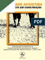 D15 Liberdade Assistida Um Projeto Em Construção Pastoral Do Menor 2010