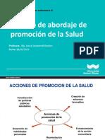 PPT Modelo de Abordaje Promocion de La Salud